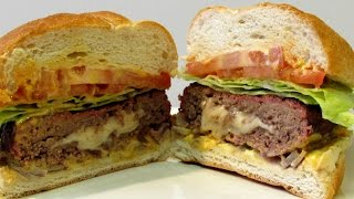 Jucy Lucy or Juicy Lucy - How to make a Jucy Lucy - Cheeseburger