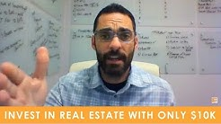 How to Get into Real Estate Investing if You Only Have 10k // The Real Estate Blitz