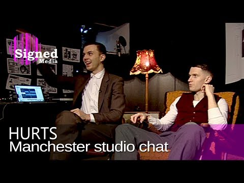 Hurts - Interviewed in their studio in Manchester (2010)
