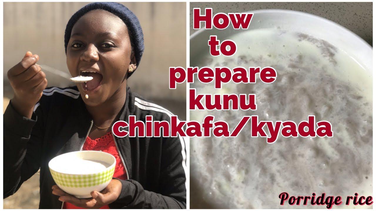 Download HOW TO PREPARE KUNU CHINKAFA/GYADA (Rice Porridge )Northern Nigeria Dish #foodvlog #northernnigeria