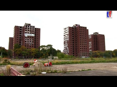 Detroit's Landmark Towers of 'Brewster-Douglass Housing Project are now history! 2013