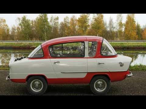Необычный автомобиль Советского Союза НАМИ А-50 «Белка»
