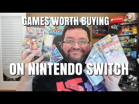 Games Worth BUYING On Nintendo Switch!