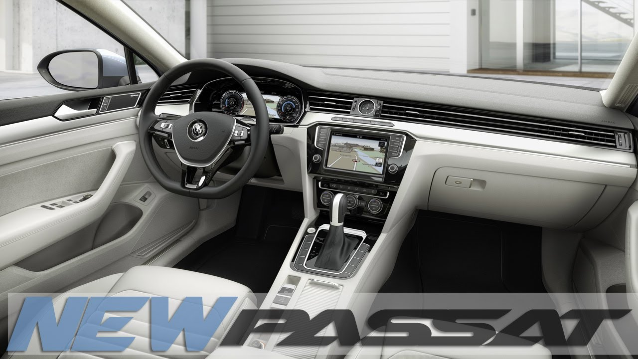 2015 New Vw Passat Interior Design Youtube