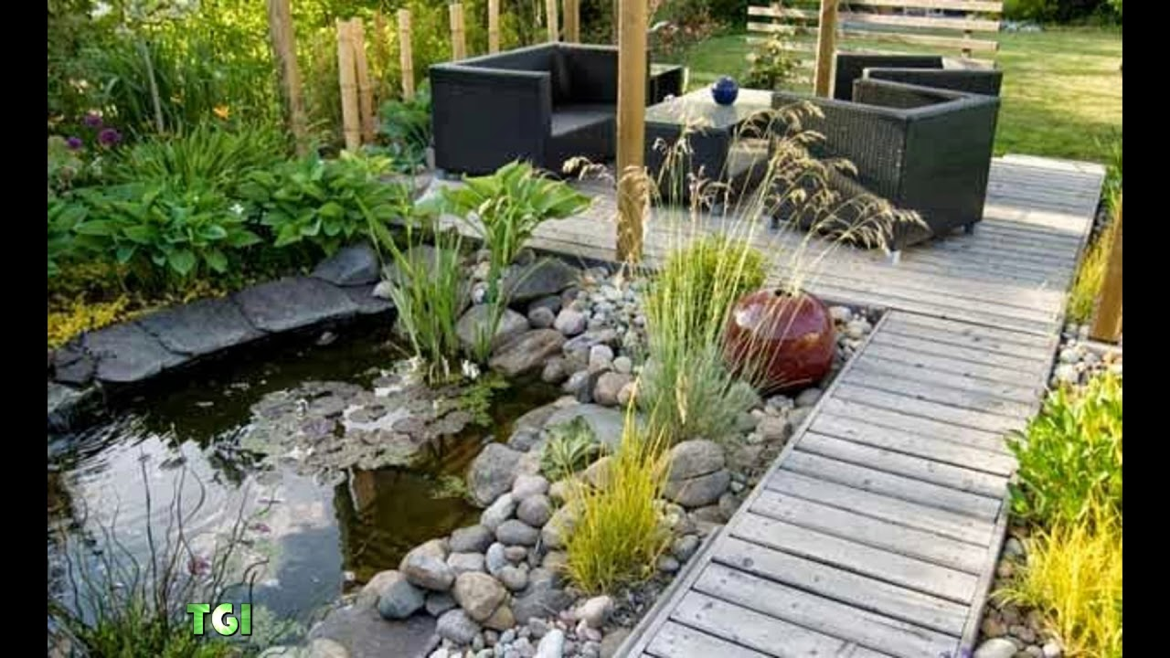 Small Garden Ideas for Limited Space Yard - YouTube
