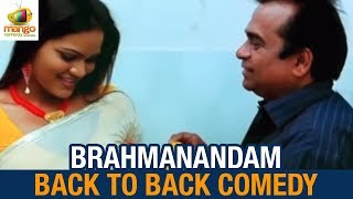 Best Comedy Videos   Brahmanandam Back to Back Comedy   Main Hoon Dil Wala Hindi Dubbed Movie