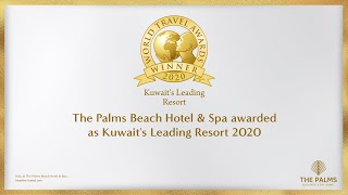 The Palms Beach Hotel & Spa awarded as Kuwait's Leading Resort 2020