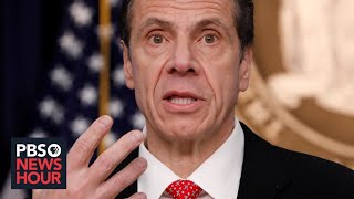WATCH: New York governor gives coronavirus update -- March 25, 2020