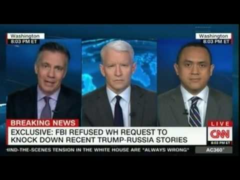 Anderson Cooper FBI refused White House request to knock down recent Trump Russia stories