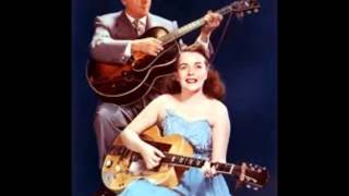 Les Paul & Mary Ford - Tennessee Waltz (c.1950).