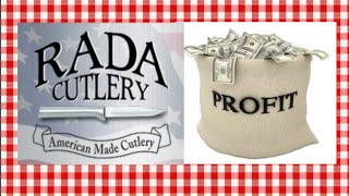 Fundraising with Rada Cutlery Noreen