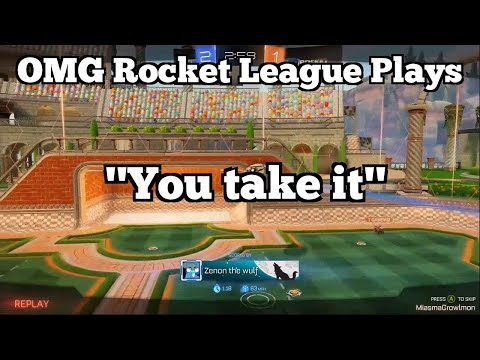 "OMG Rocket League Plays: ""You take it"" thumbnail"