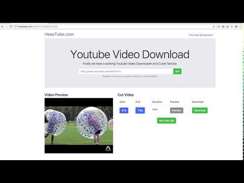 download video youtube online cut