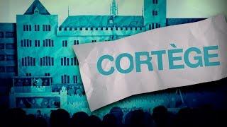 Basler Fasnacht Cortège vom Montag 23.2.15