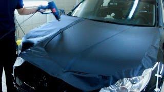 Как оклеить авто пленкой Luxon (Часть 1/3)(Лучший видео урок! Самая подробная инструкция! Ставим лайки если видео нравится! Наш сайт: http://www.avtoplenka.com/..., 2012-11-26T06:43:57.000Z)
