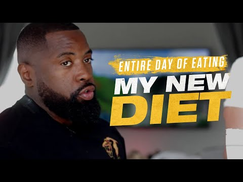 Entire Day of Eating | My New Diet | Mike Rashid