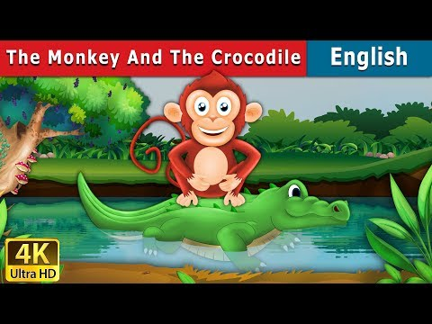 The Monkey And The Crocodile Story In English | Bedtime Stories | English Fairy Tales