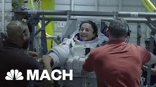 This Is The Closest You Can Get To Zero Gravity Without Leaving Earth | Mach | NBC News