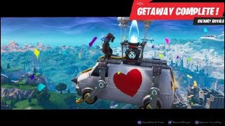 Fortnite Getaway Season 8 win