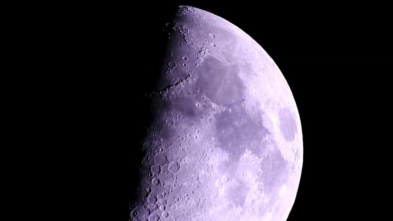 Moon Tonight: First Quarter 30 MAY 2020  القمر التربيع الاول 7 شوال