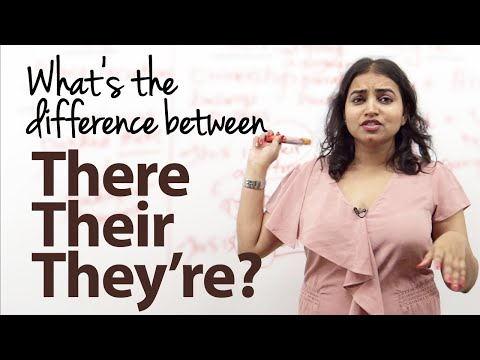 What's the difference between There, Their and They're? - English Grammar Lesson from YouTube · Duration:  7 minutes 48 seconds