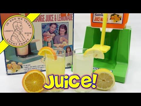Sunkist Juice Maker, Orange Juice & Lemonade Kids Juicer Playset