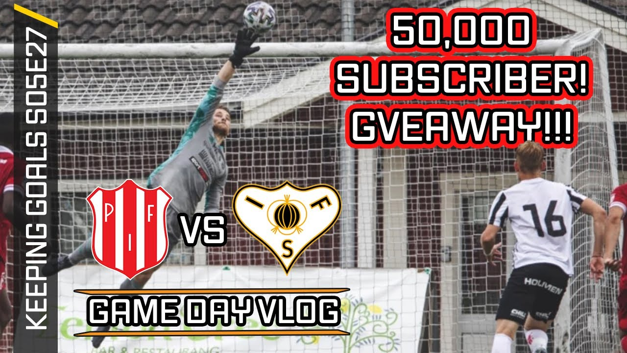 Top Hand Saves & A 50,000 Sub Giveaway! - Match Day Vlog | Keeping Goals S5Ep27