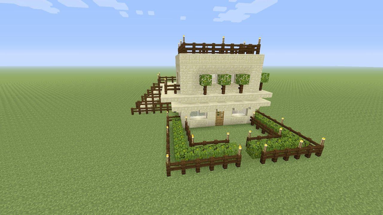 Minecraft een modern zand huis maken deel 2 youtube for Huis maken minecraft