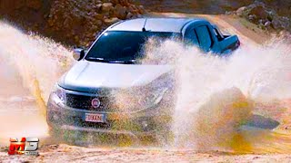 New fiat fullback 2016 - first off road test drive only sound