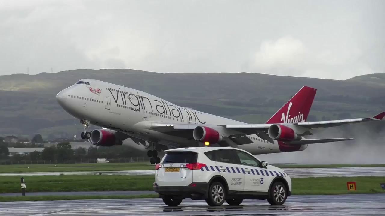 Virgin Atlantic B747-400 G-VAST