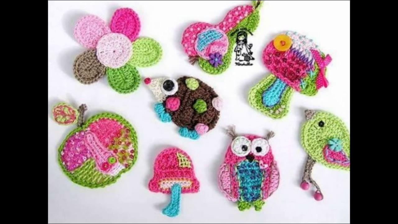 Accesorios tejidos a crochet para decorar prendas de for Accesorios para decorar