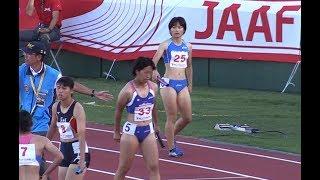 1 滋賀 46秒06 準決勝へ (1)池松 杏香 (02) (2)下村 日向子 (00) (3)壹...