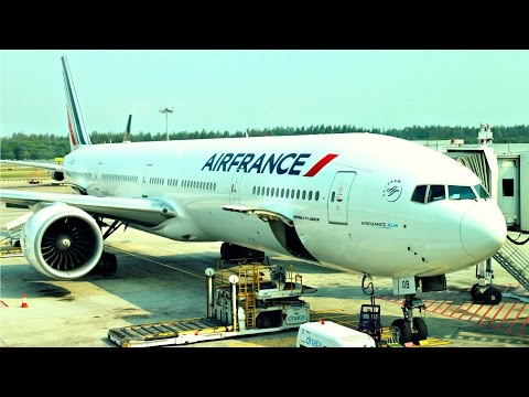 Air France Flight Experience: AF254 Singapore to Jakarta