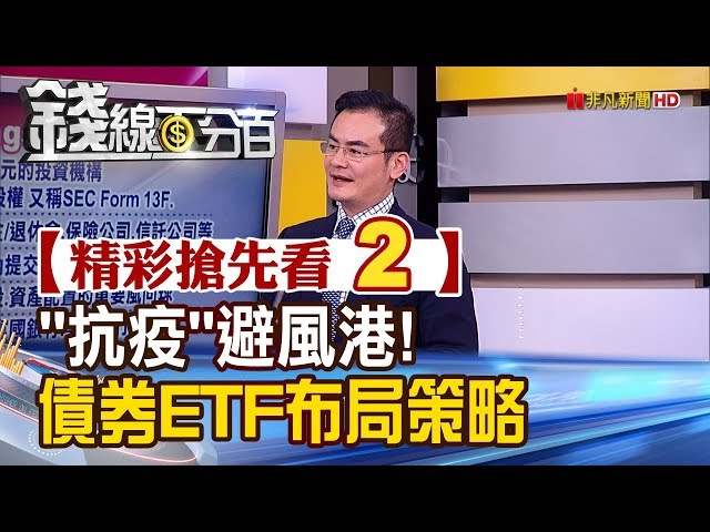 """精彩搶先看2【錢線百分百】20200217《投資人""""抗疫""""避風港!債券E"""