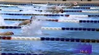Atlanta Olympic Games Swimming 100 Butterfly Woman