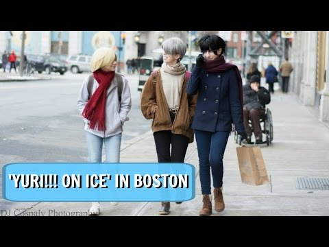 'YURI!!! ON ICE' IN BOSTON ❄️