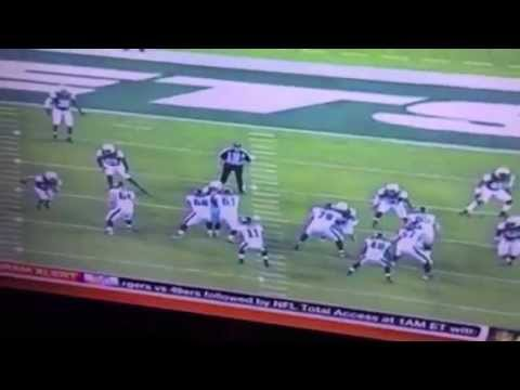 Tim Tebow Highlights TD Pass v NY Jets #Eagles