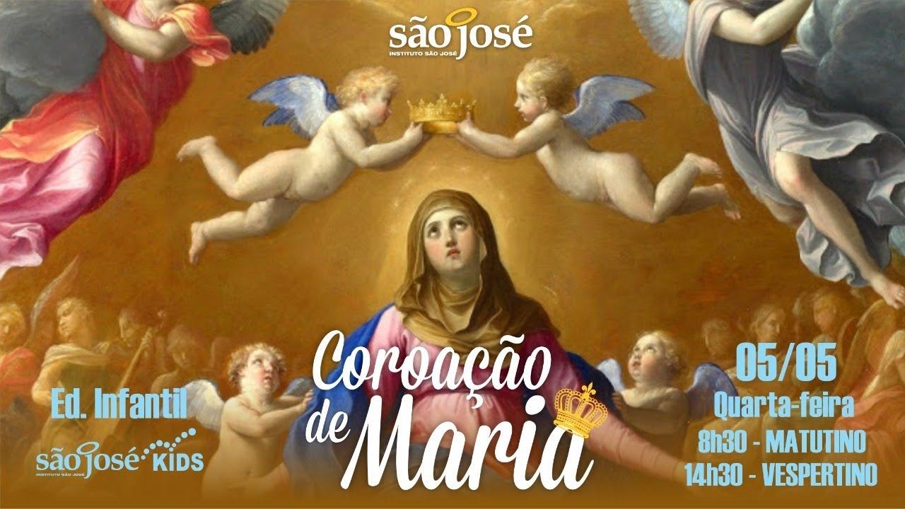 Coroação de Maria - Educação Infantil - Turno vespertino