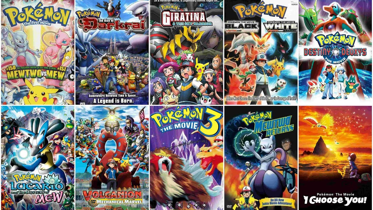 Download Pokemon All Movies List 1 To 22  Anime Source