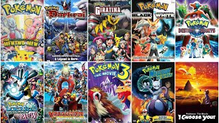 Pokemon All Movies List 1 To 22 