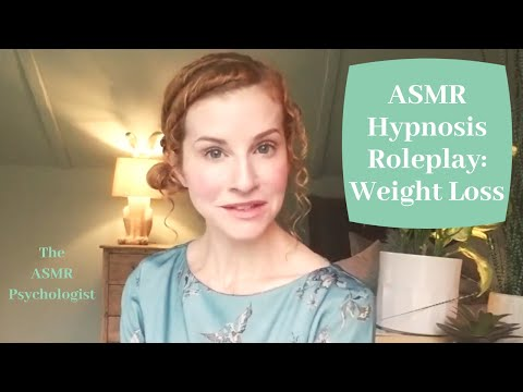 ASMR Hypnosis: Weight Loss *REAL HYPNOTHERAPIST* - Whispered British Accent