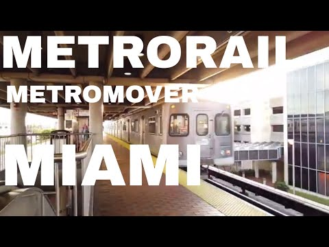 Metrorail & Metromover De Miami Dade (Florida)