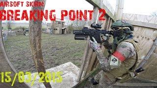airsoft skirm @Breaking point (2 tippmann m4