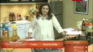 ''healthy Cooking'' - Ep# Sunset I Land - Banana Mint Slush Part-1b/4 (30-apr-12) Health Tv.mpg