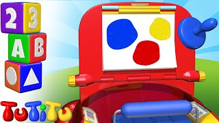 Изучение цвета на английском языке   Набор для рисования   TuTiTu дошкольный