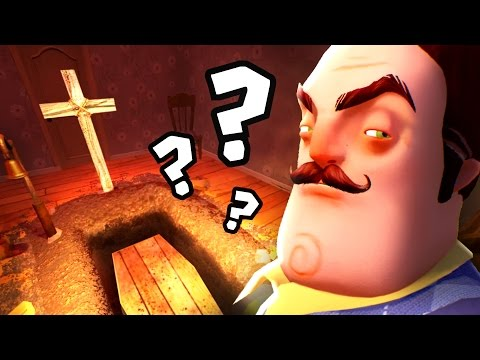 WHAT'S THE SECRET IN THE GRAVE? | Hello Neighbor