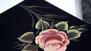 Repeat youtube video Pinceladas Decorativas: La Rosa