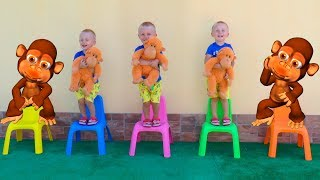 Five Little Monkeys | Nursery Rhymes & Kids Songs