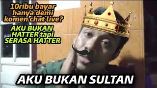 10 ribu sebulan untuk komen live? mending buat makan   aku bukan sultan...!!!