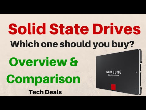 SSD Overview - Which one should you buy? - Samsung / SanDisk / Crucial / ADATA / PNY